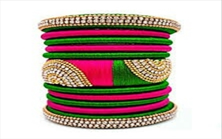 Wanaw Silk Thread Bangles &Necksets