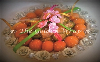 The Golden Wrap WP017