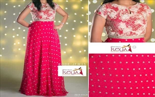Keya Clothing Centre Gown19