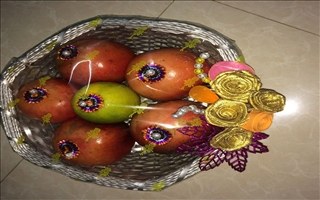 Keerthi Plate Decoration