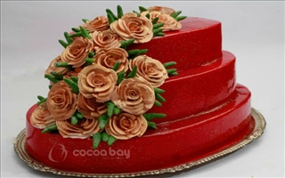Wedding Cakes - Strawberry - 3 Kgs