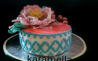 Wedding Cake Karamella 10