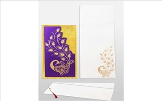 Wedding Cards Elektra84-Purple