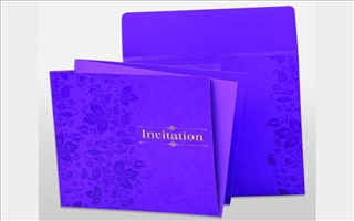 Wedding Cards Vibrance A5